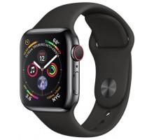 Смарт-часы Apple S4 44 sport black