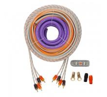 Набор кабелей и аксессуаров для установки автомобильных усилителей DL Audio Barracuda WK 44