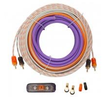 Набор кабелей и аксессуаров для установки автомобильных усилителей DL Audio Barracuda WK 82