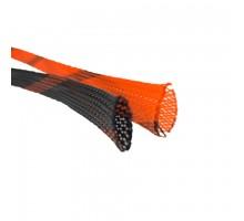 "Защитная оплетка типа ""змеиная кожа"" DL Audio Wooven pipe 0 Ga Orange"