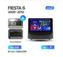 Штатная магнитола FORD FIESTA 6 2009-2018 CC2 2G+32G 4G+WIFI