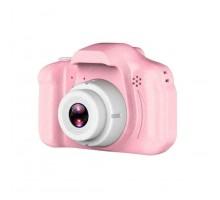Детская мини-камера Gift Digital Camera 1080P Projection Video Camera Pink