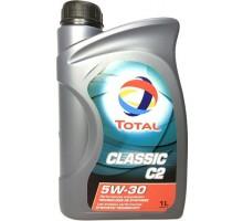 Моторное масло  Total Classic 5W30 C2 1 литр