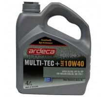 Моторное масло Ardeca MULTI-TEC+ 10W-40 4 литра