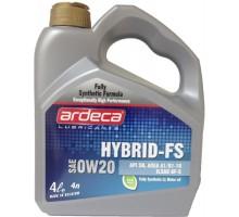 Моторное масло Ardeca HYBRID-FS 0W-20 4 литра