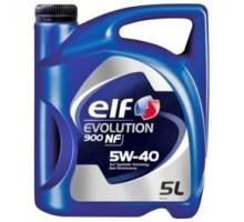 Моторное масло ELF 5W40 EVOLUTION 900 NF 5 литров