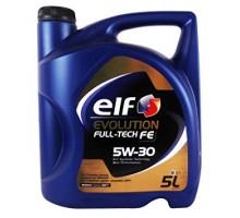 Моторное масло Elf Evolution Full-Tech FE 5W-30 5 литров